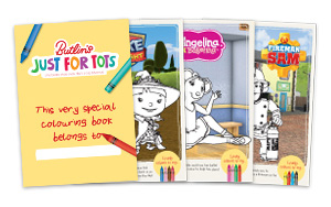 Butlins Just For Tots Colouring Book